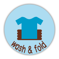 wash and fold
